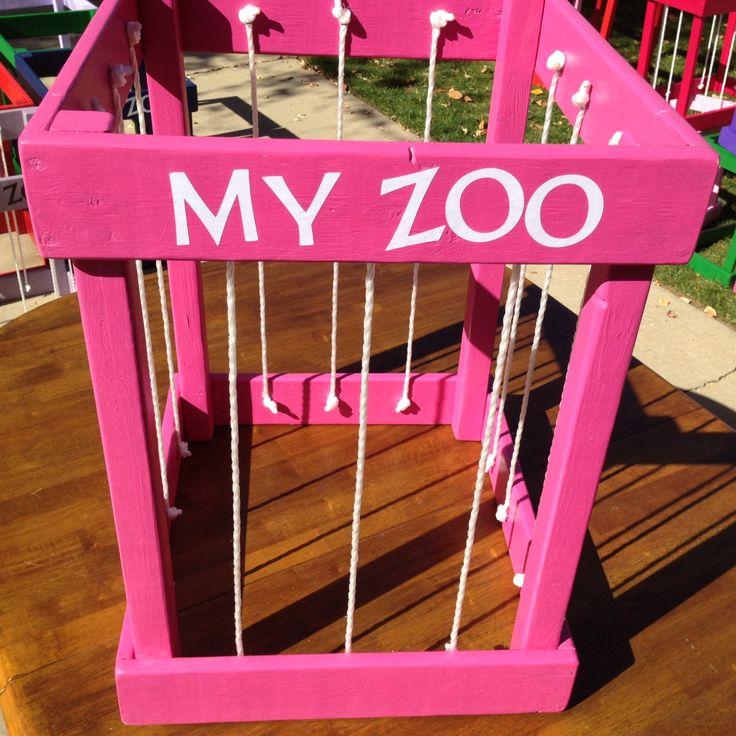 Stuffed Animal Storage My Zoo Wide by PickleToe on Etsy, $58.00