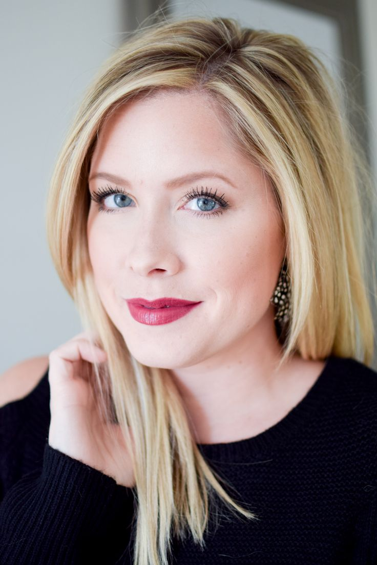 A Winter Glow Makeup Look // by Kate Bryan at the Small Things Blog