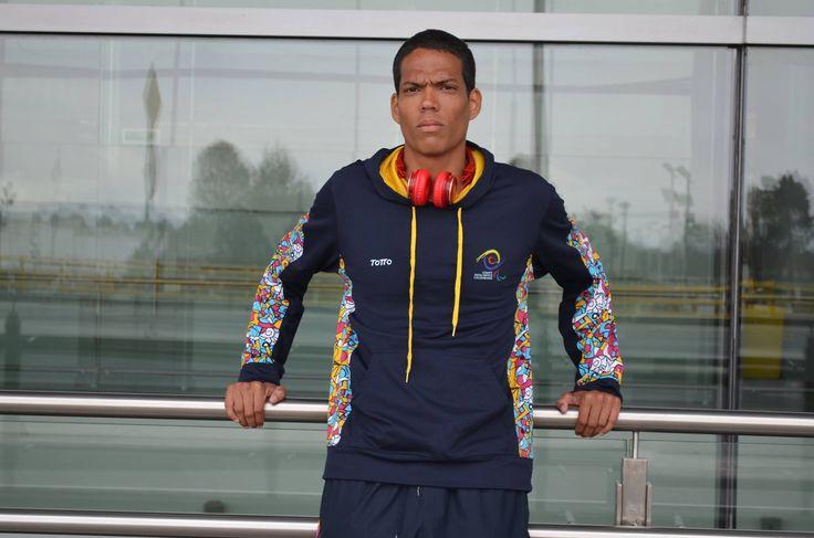 Dixon Hooker, campeón mundial de paratletismo en 400 metros T38, en el 2015.