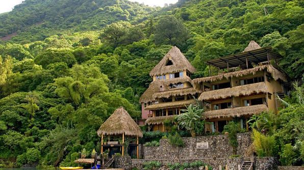 Laguna Lodge Eco Resort and Nature Reserve on Guatemala's stunning Lake Atitlan.