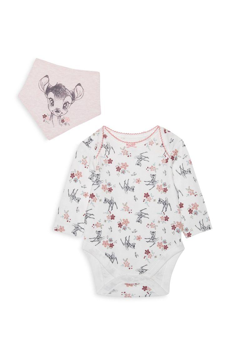 Primark - Baby Girl Bambi Bodysuit Set