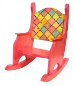This great child's rocking chair is available right now.  Custom colors also available. $179.95