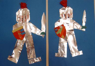 Thema ridders | Juf Anke lesidee kleuters