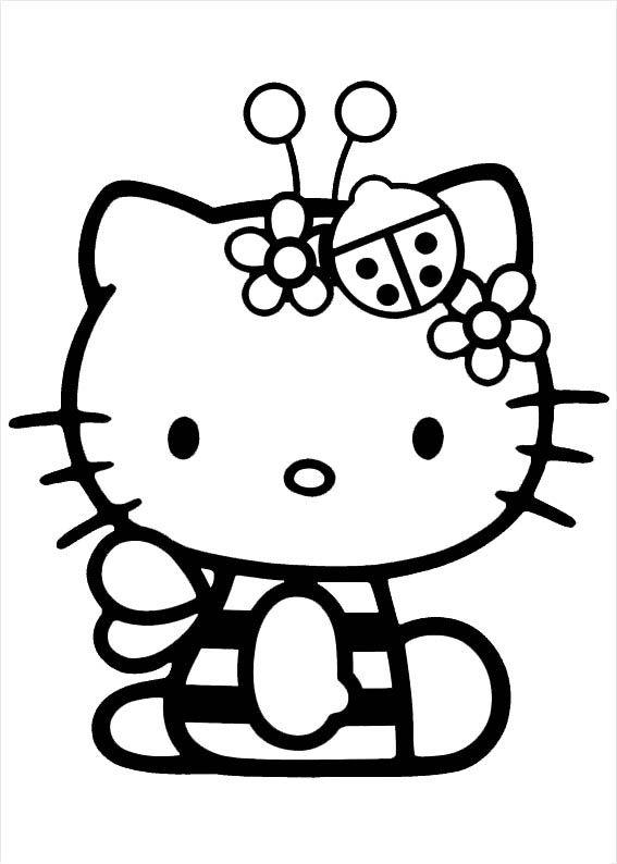 Hello Kitty 3 Hello Kitty Sachen Ausmalbilder Hello Kitty Hello Kitty