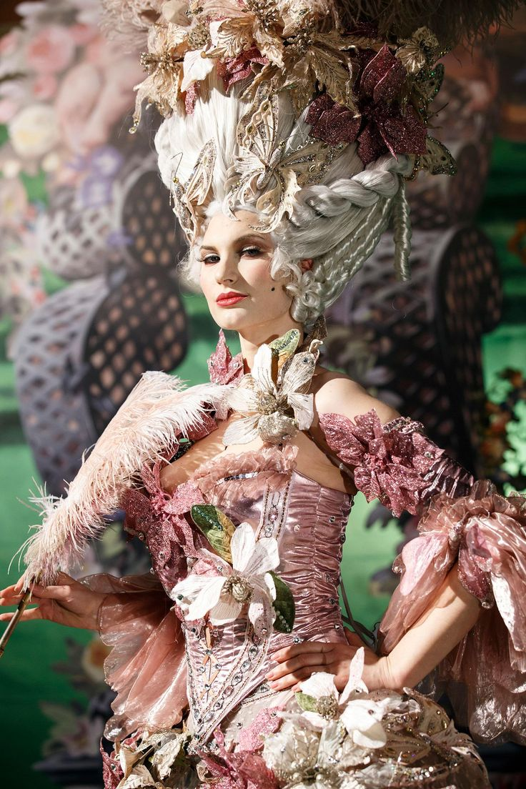 Rococo Inspired ~ Style Bible Life Ball 2014 photos by Inge Prader