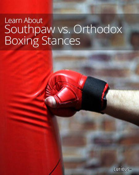 Southpaw vs. Orthodox Boxing Stances
