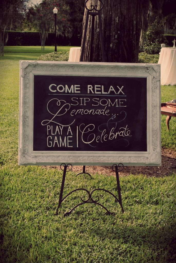 Wedding Direction Sign Chalkboard Google Search My