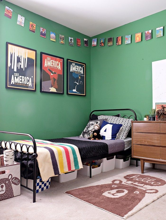 Best Kids Bedrooms Nurseries Images On Pinterest Nurseries - Colorful kids room designs with plenty of storage space