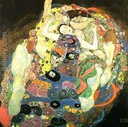 The Maiden  by Gustav Klimt