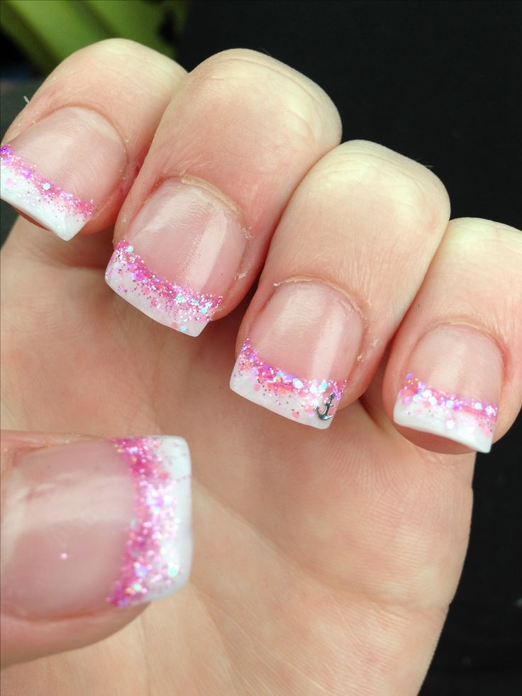 Acrylic nails Fashion Pink Design