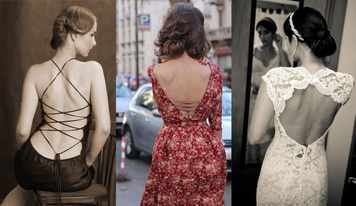 Кружевное вечернее платье с открытой спиной