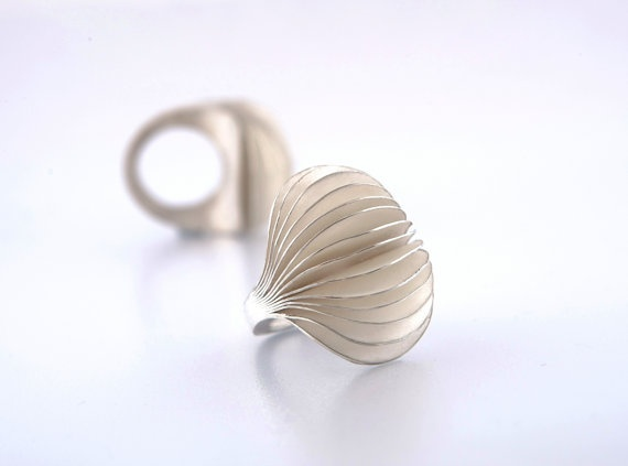LUMO silver ring by DMarisannaMultamaa from Finland