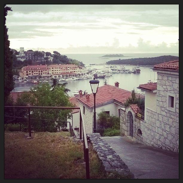 Orsera (Croazia) sotto la pioggia