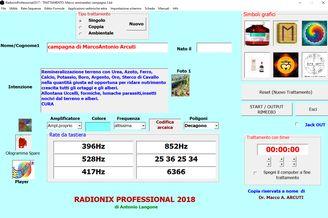 Software Radionico - A.M.O.R.E. NATURA