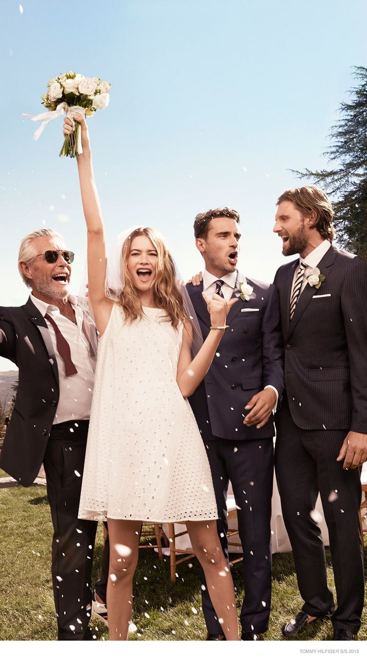 Best 25 behati prinsloo wedding ideas on pinterest behati behati prinsloo says i do for tommy hilfiger spring 15 ads junglespirit Image collections