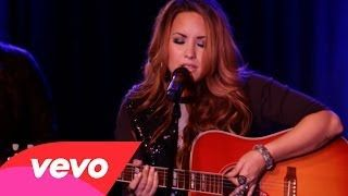 Demi Lovato - Catch Me / Don't Forget (An Intimate Performance) - YouTube