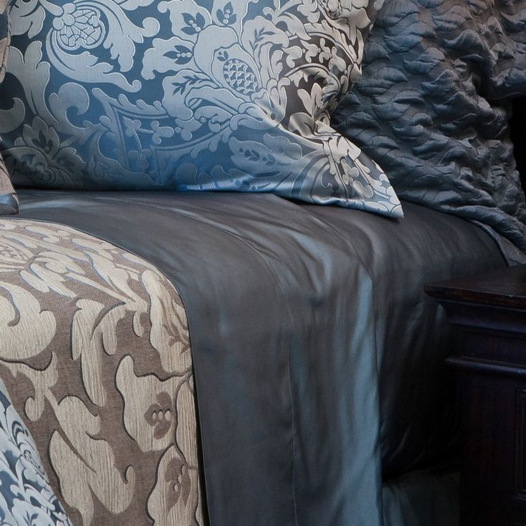 this luxuriously finished solid sateen bedding is universally beautiful the collection is designed to coordinate wonderfully as a basic across all sdh