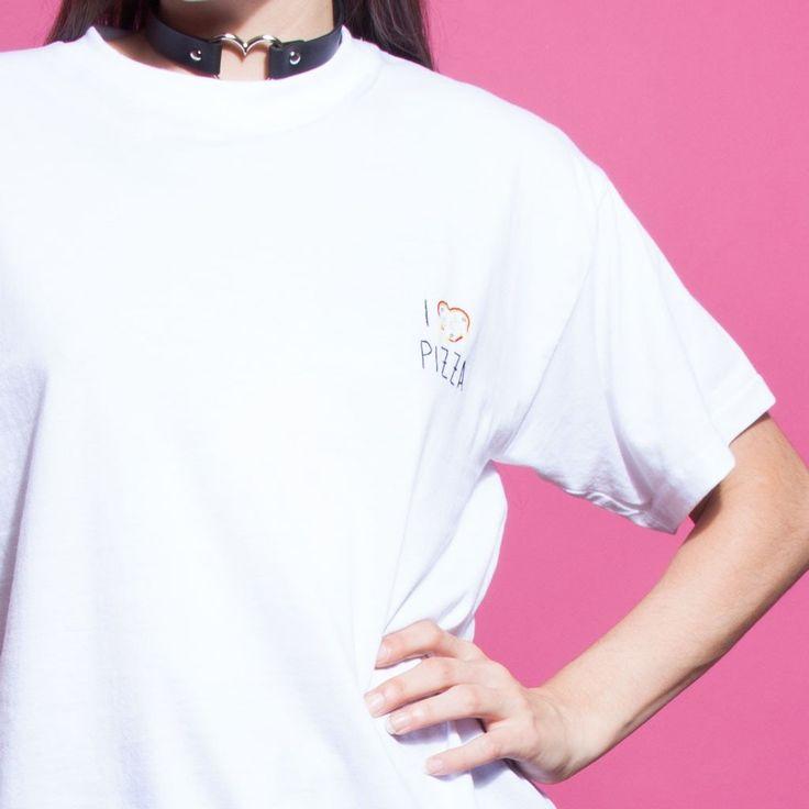 I Heart Pizza T-Shirt | NYLON SHOP