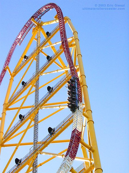 Top Thrill Dragster Roller Coaster at Cedar Point