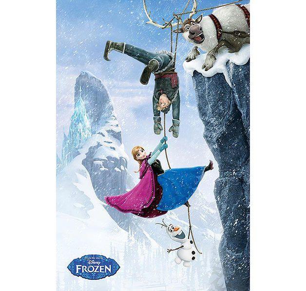 Frozen Poster am Abgrund