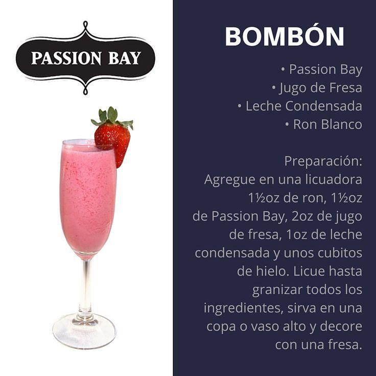 Probá el delicioso Passion Bay! #PassionBay #Coctel #Cocktail #Bombon
