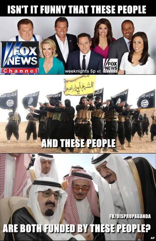 Linked, The Power Elite and Religion: The alleged al-Qaeda financier, Saudi billionaire Prince Alwaleed bin Talal, is a very close friend of Rupert Murdoch and his family, who control major media companies like Fox News. • http://www.aim.org/aim-column/scandal-rocks-fox-news-over-saudi-terror-link/