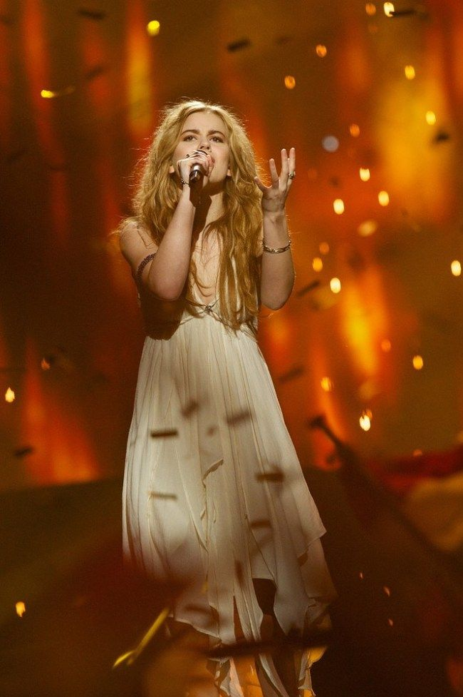 Emmelie de Forest won the Eurovision Song Contest 2013