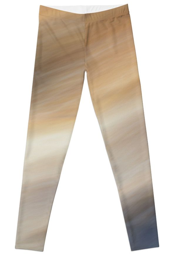 Abstract Summer Breeze Leggings by Galerie 503