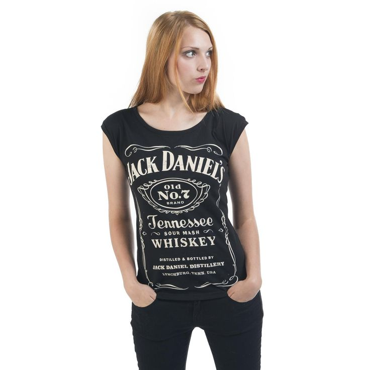 Old No.7 Back Zip - Girls shirt by Jack Daniel's - Article Number: 255170 - from 16.99 £ • EMP