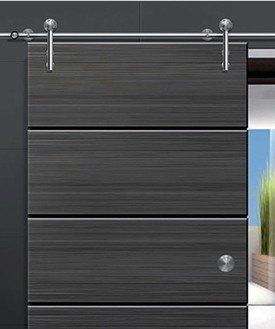 European Modern SLIDING BARN DOOR HARDWARE FOR WOOD DOOR INSERT DOOR ROLLER STYLE
