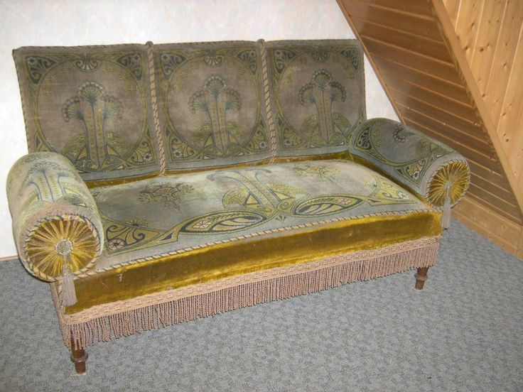 Antikes Sofa, Jugendstil in Antiquitäten & Kunst, Mobiliar & Interieur, Sitzmöbel | eBay