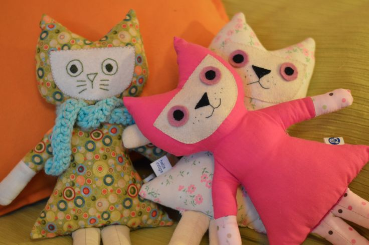 cats - soft toys