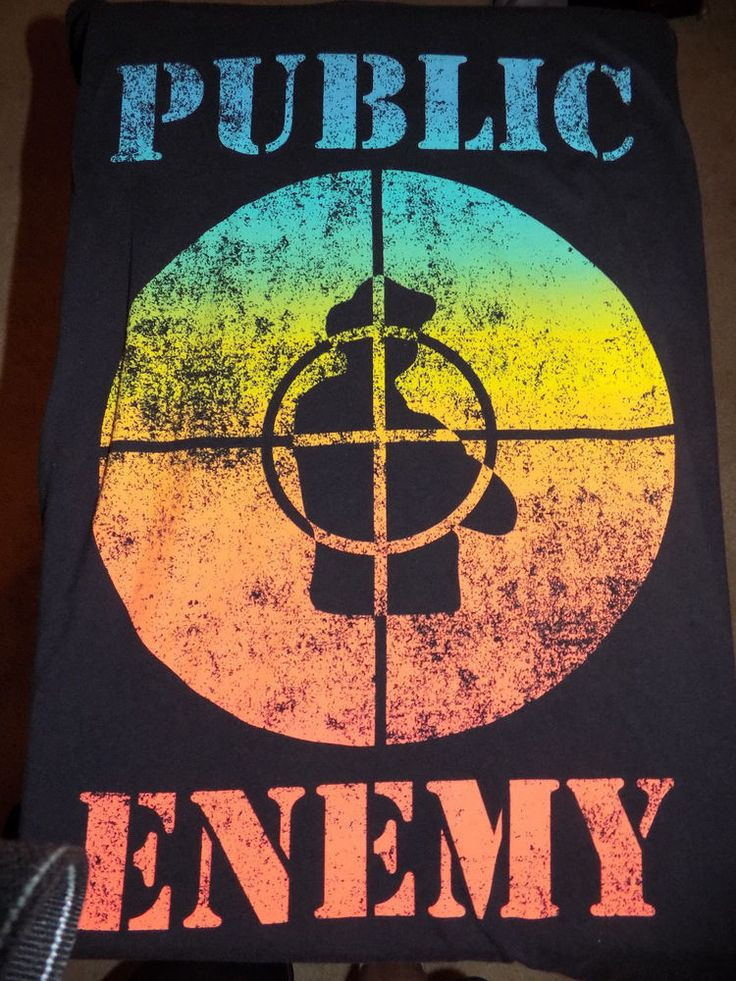 Public Enemy Fight The Power 2 Sided Old School T Shirt Size XXXL #Control #GraphicTee