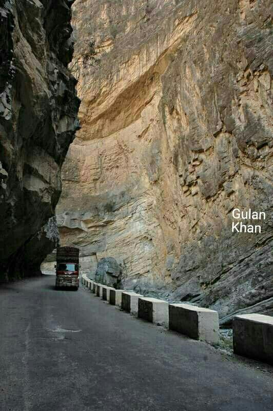 So wonderful view of the Suleman mountains, Waziristan kpk Pakistan
