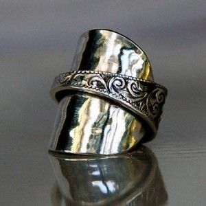 Spoon ring- will be making one of these for myself!!