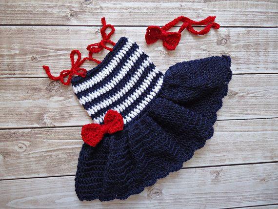 Crochet Baby Marine Hat Pattern : 20+ best ideas about Crochet Dress Girl on Pinterest ...