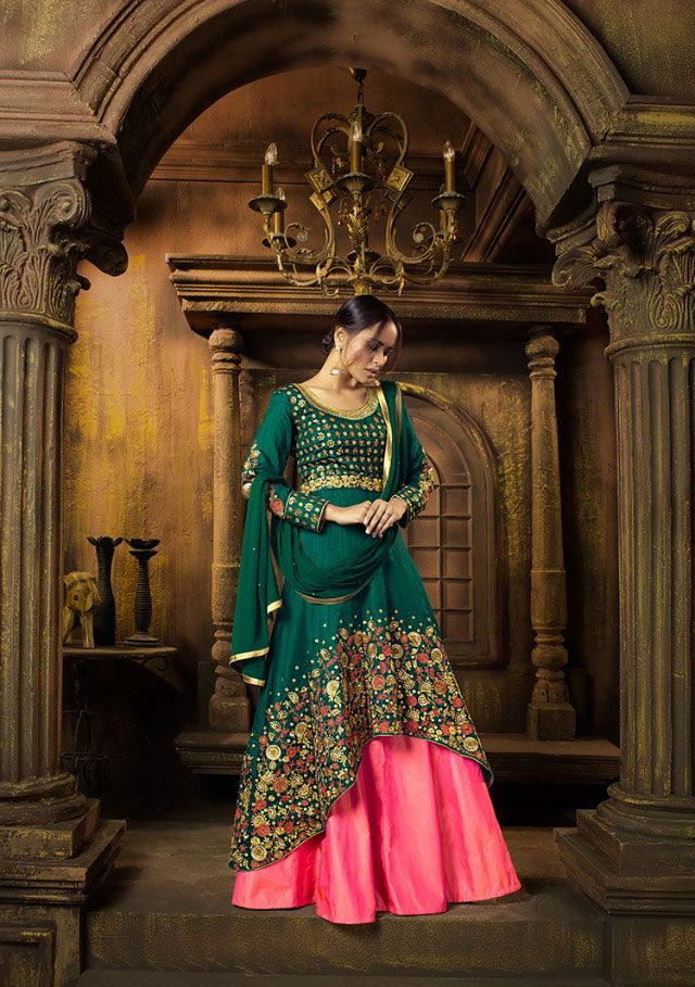 Saree exotica Wholesale mother daughter collection Skirt dress online dealer