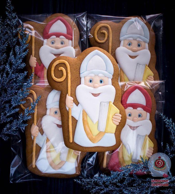 Прянички ко Дню святого Николая🎅🎅🎅 отправляются к деткам под подушки❄️❄️❄️❄️❄️#имбирноепеченье #имбирныепряники #расписныепряники #пряникиручнойработы #ручнаяработа #handmade #handmadecookies #icing #royalicing #icingcookies #stnikolaus #christmas #christmascookies #pechenko_dnepr #святойниколай #пряникиниколайчики #деньсвятогониколая #подарокребенку #подарокподподушку #днепр #днипро #днепропетровск #пряникиднепропетровск #