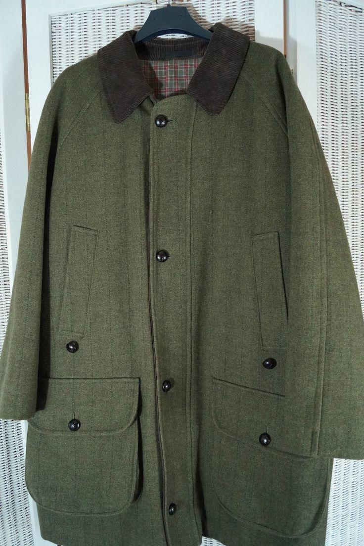 Vintage Barbour Derby Tweed Jacket Shooting Hunting Country Sports Coat 44C | eBay