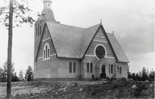 Vehmersalmen kirkko; Hirvonen, Matti