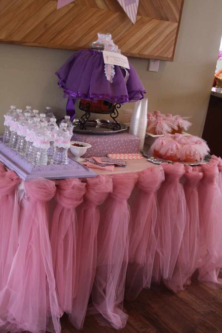 17 Best Images About Tutu Table Skirt On Pinterest