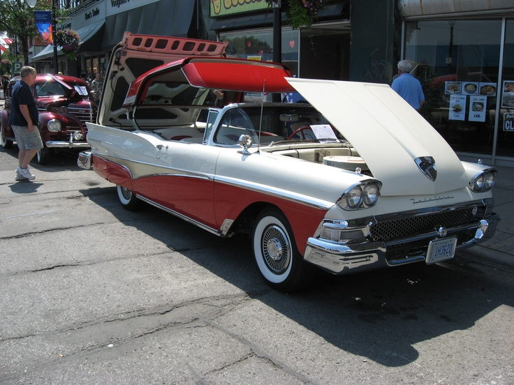 58 Ford With Retractable Roof Antique Cars Ford