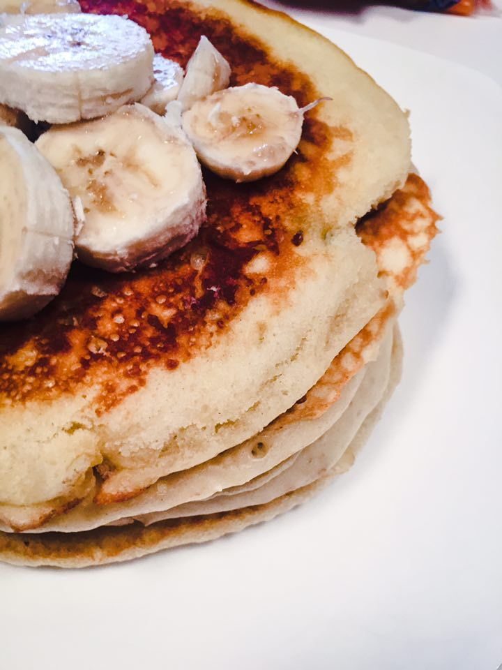 Glutenfree and healthy banana pancakes perfect for breakfast or brunch