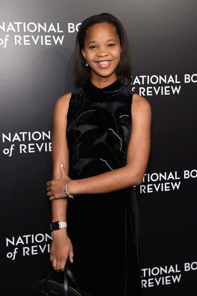 Quvenzhane Wallis Photos Photos - Quvenzhane Wallis attends the 2016 National Board of Review Gala at Cipriani 42nd Street on January 4, 2017 in New York City. - 2016 National Board Of Review Gala