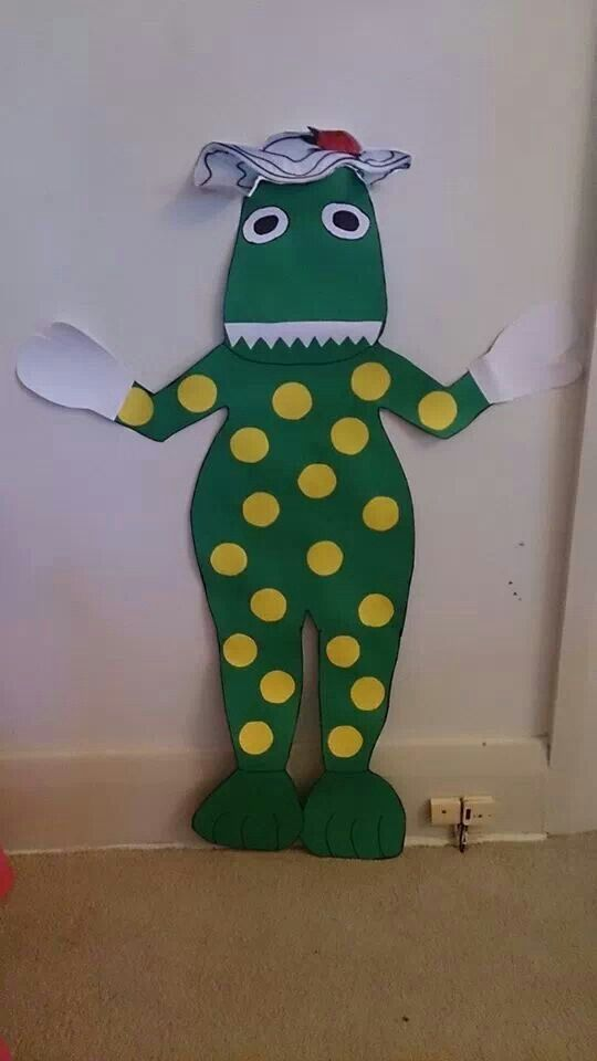 Pin the hat on dorothy game - kids loved it :) made her using regular cardboard