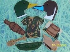 Duck hunter cookies