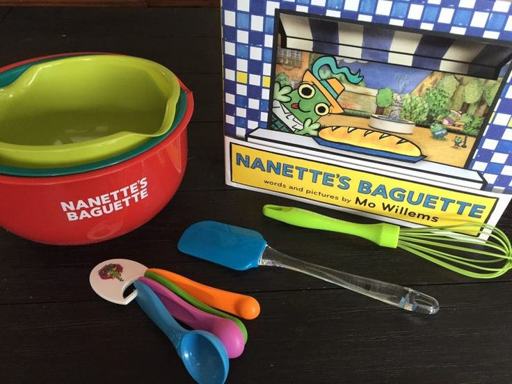 Nanettes Baguette by Mo Willems - Prize pack
