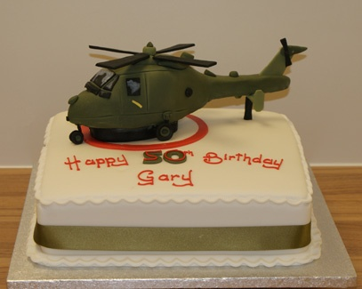 Cool helicopter cake:)