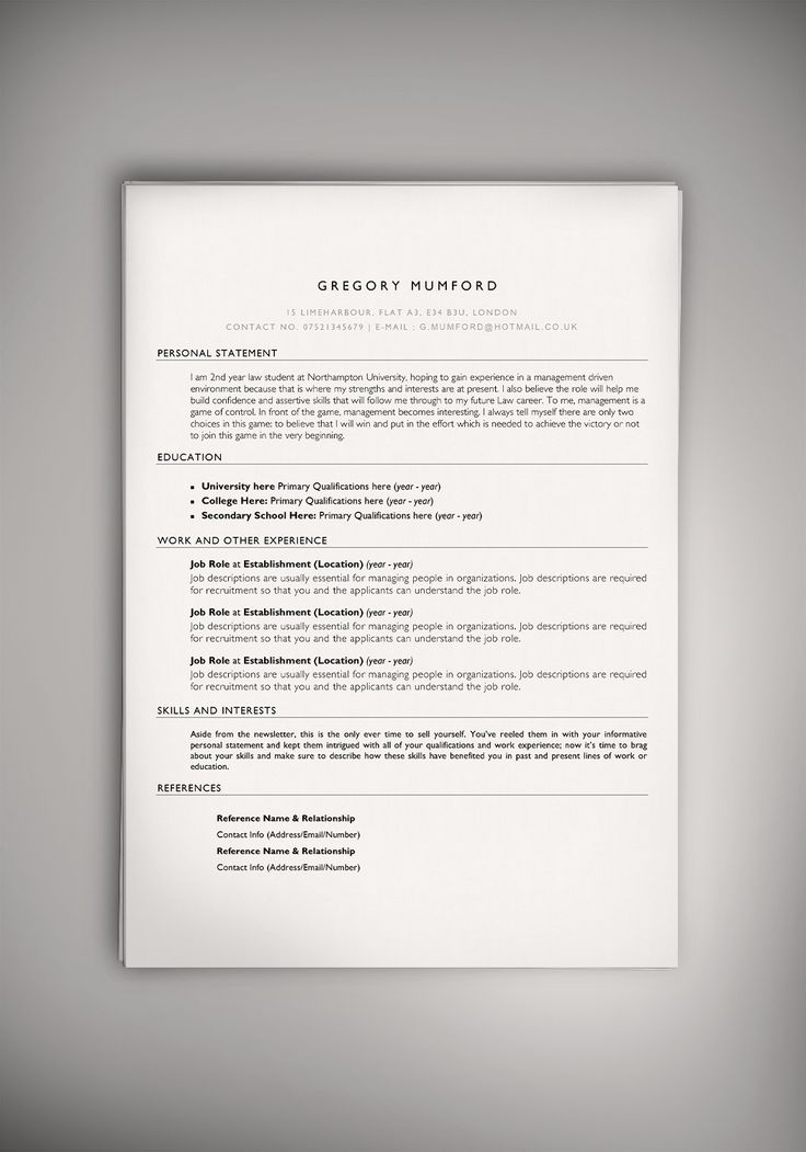 Home Design Ideas Template Resume Template Word Doc Smashcurve