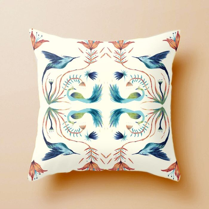 Natural rhythm Pillow - Natalia CA